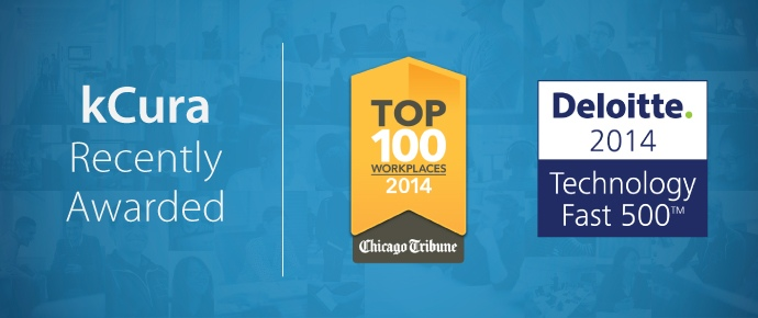 kCura Named to Tribune Top Workplaces and Deloitte Technology Fast 500