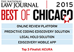 kCura Earns NLJ Best of Chicago 2015 Awards