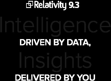 Relativity 9.3