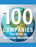 kCura Named to KMWorld's 100 Companies That Matter In Knowledge Management