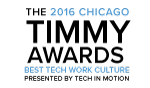 2016 Timmy Awards - Best Technology Work Culture