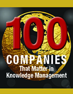 kCura Named to KMWorld?s 100 Companies That Matter In Knowledge Management