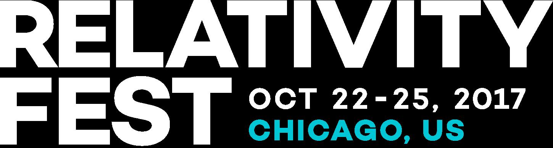Relativity Fest Relativity Fest | October 22-25, 2017 | Chicago, IL