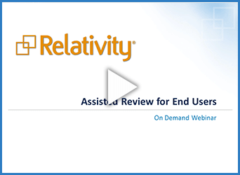 Assisted Review for End Users