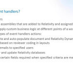 Event Handlers, Part 2: Applications